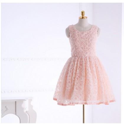 Best of the Bunch Dress - Light Peach
