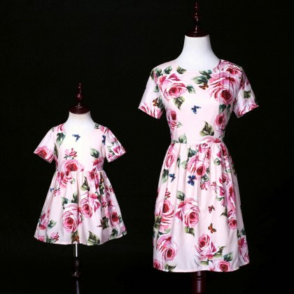 Field of Roses Dress