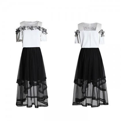 Little Black Skirt 2-Piece Set